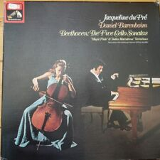 SLS 5042 Beethoven Cello Sonatas / Du Pre / Barenboim 3 LP box