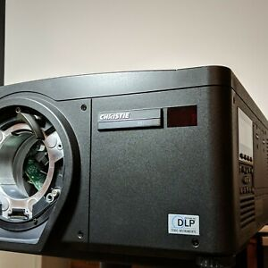 Christie HD 10  8 PROJECTOR 10000 LUMEN 3 chip dlp. Fully Serviced,  New lamps