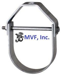 "Anvil Figure 260 Adjustable Clevis Hanger 1-1/4"" Hot Dip Galvanized <260HD11/4"