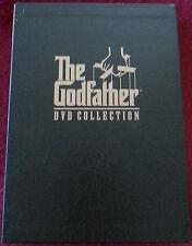 THE GODFATHER, 2001 DVD 5-DISC COLLECTION, BRANDO, PACINO, COPPOLA, CRIME DRAMA