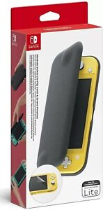 Nintendo Switch Lite Cover Ufficiale Custodia Flip Pellicola Protettiva