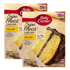 Betty Crocker Super moist Yellow Cake Mix 432g (2 PACK)
