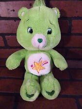 """Care Bear OOPSY Green Plush 15"""" Toy Shooting Star"""