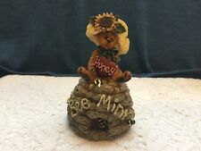 Rare Boyds Bearstone Collection Figurines Bailey A Little Bit Of Honey #94575Pog