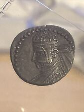 Parthian Empire Parthamaspates 116Ad Ancient Rome Drachm Coin