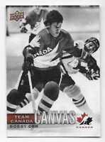 17/18 UPPER DECK TEAM CANADA CANVAS Hockey (#TCC1-TCC55) U-Pick From List