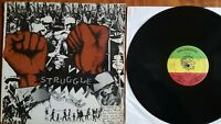 1979 Roots Reggae vinyl LP -  BUNNY WAILER - Struggle  SOLOMONIC 012 EX/VG+ disc