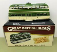 ATLAS EDITIONS 1:76 DIE CAST BLACKPOOL BALLOON TRAM FLEETWOOD PROM - NOS - MIB