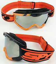 Spy Optics Targa 3 Gafas de motocross Naranja Negro Sunday Plateado