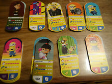 LOT 75 CARTE MOI MOCHE ET MECHANT 3 MINION AUCHAN NO PANINI sans double