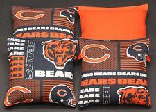 CHICAGO BEARS Cornhole Bean Bags 4 ACA Regulation Corn Toss Hole Shot Bags NEW!