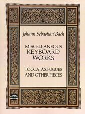 Bach Keyboard Works Toccatas Fugues Pieces Learn to Play Piano Music Book