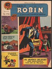 LA REVISTA DE ROBIN # 88 1952 - RARE Argentine Printed COMIC (Robin and Batman)