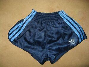 Adidas Glanzturnhose, Sprinter, Größe 3, marine, 80er Jahre, nicht getragen