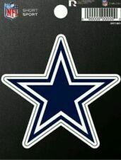 """Rico NFL Dallas Cowboys 3"""" x 3"""" Die-Cut Decal Window, Car or Laptop new"""