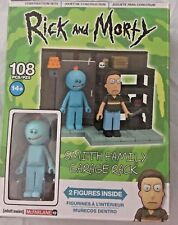 Rick and Morty Smith Family Garage Rack 108 pc Construction Set