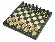 Nuevo ajedrez de madera con tablero plegable