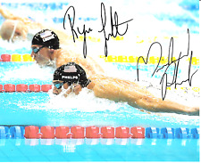 Michael Phelps and Ryan Lochte (USA)  8 x10 Reprint Signed Photo.