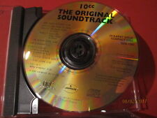 "DCC GZS-1083 10cc "" ORIGINAL SOUNDTRACK "" (24 KT GOLD COMPACT DISC/NEW=UNPLAYED)"