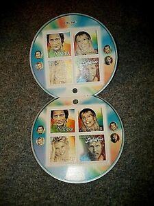 CANADA Souvenir Sheet 2221 Recording Artists 2007 Anka, Mitchell, Lightfoot,Anne