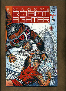1991 Magnus Robot Fighter #5 VF/NM 1st App Rai Valiant Pre-Unity w/Coupon