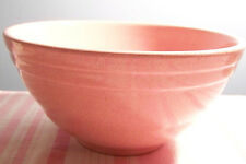 """Pfaltzgraff Speckled Pink Puffy Ringed Mixing Bowl 7 7/8"""""""