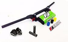 Fasst Co Flexx 14 Quad Low Handlebars Bars Green Pad Clamp Grips Universal ATV's
