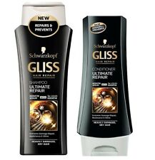 Gliss Ultimate Repair Shampoo or Conditioner Liquid Keratin Damaged & Dry Hair