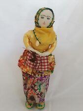 "Vintage Turkish Cloth Ethnic Doll 13"""