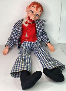 Vintage ventriloquist dummy Mortimer Snerd Goldberger doll