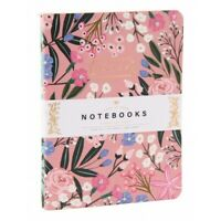2 NOTEBOOKS NOTEPAD NOTE BOOK JOURNAL NOTES pink blue gifts field notes memo NEW