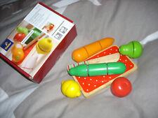 Klett Schneideobst/Gemüse aus Holz  Kinder