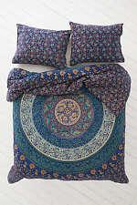 Blue Indian Mandala Tapestry Hippie Wall Hanging Twin Dorm Throw Bedspread Decor
