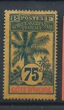 Cote d'Ivoire N°32 (*) (MNG) 1906/7 - Palmiers