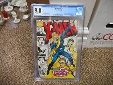 X-Men 10 cgc 9.8 Return of Longshot NM MINT WHITE pgs Jim Lee cover Marvel 1992
