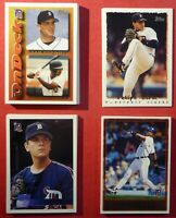 1995, 1996 & 1997 Topps Detroit Tigers Team Sets with Traded (56 cards)