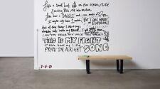 Vinyl Wall Decal Sticker Decor Song Lyrics Music Art Room Design RI013