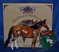 Peter Stone~2000~Christmas~Holiday Glossy Bay Ideal Stock Horse~ISH~RARE