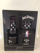 Jack Daniels NBA SET OF FOUR (4) WHISKEY GLASSES (NEW IN BOX)