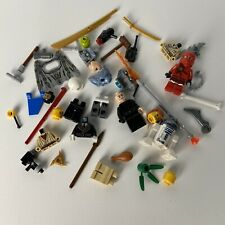 Lego Lot Minifigures Parts Pieces Headgear  Hats Hair Weapons City Star Wars