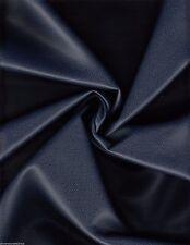 5.625 yds Ultrafabrics Upholstery Fabric Promessa Faux Leather Atlantic Blue CQ