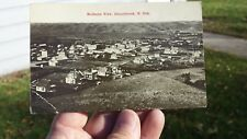 Vintage Postcard Birdseye View Donnybrook North Dakota