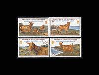 Guernsey, Sc #209-12, MNH, 1980, Golden Goats, Animals, AR5FRD-C