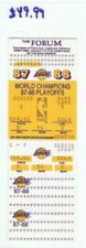Lakers/Mavericks 1988 NBA Cf Finals Full Ticket Game #1