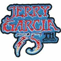 JERRY GARCIA - 75TH BIRTHDAY - EMBROIDERED PATCH - BRAND NEW GRATEFUL DEAD 4571