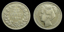 Netherlands - 25 Cent 1906
