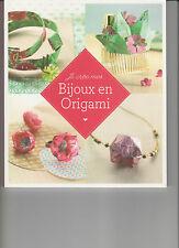 Livre : Je crée mes bijoux en origami - Marie-Claire Idées-Travaux manuels