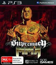 Supremacy MMA PS3 Game USED