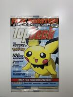 Pokemon Top Deck Magazine With SEALED Team Rocket Booster Pack WOTC 2000