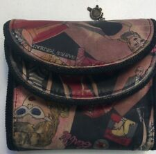Nicole Miller Barbie Wallet Broke Snap Worn RecycledFashionShop.com